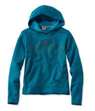 Kids' Mountain Fleece Hoodie, Pullover Graphic